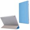 Huawei MediaPad M3 Lite 10.0, mappa tok, Trifold, világoskék