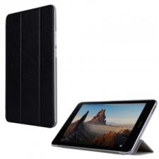 Huawei Mediapad T3 8.0, mappa tok, Trifold, fekete tablet kellék