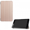 Huawei Mediapad T3 8.0, mappa tok, Trifold, selyem hatású, vörösarany