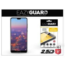 Huawei P20 Pro gyémántüveg képernyővédő fólia - Diamond Glass 2.5D Fullcover - fekete mobiltelefon kellék