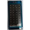 Huawei P8 Lite lcd keret (középső keret) fekete