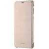 Huawei P Smart, gyári flip tok, arany