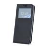 Huawei Smart Look Huawei Mate 10 Lite oldalra nyíló bőrhatású ablakos könyv tok szilikon belsővel fe