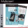 Huawei Y7, Kijelzővédő fólia, ütésálló fólia (az íves részre is!), MyScreen Protector, Diamond Glass (Edzett gyémántüveg), fekete
