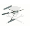 Hubi Tools HUBI Hónoló fúrógépbe 3 pofás 51-178 mm (AB70136)