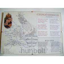 Hunbolt Asztalra tehető és falra akasztható üveglapos csángó himnusz 21X30 cm grafika, keretezett kép