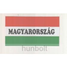 Hunbolt Nemzeti színű Magyarország felirattal matrica II. 10X5,5 cm matrica