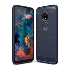 Hurtel Carbon telefontok hátlap tok RugApples Cover TPU tok telefontok hátlap Motorola Motorola G7 Játék kék tok és táska