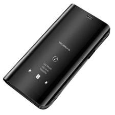Hurtel Clear View tok telefontok hátlap Display Samsung Galaxy A7 2018 A750 fekete tok és táska