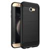 Hurtel Samsung Galaxy A3 (2017) A320 Carbon Flexible hátlap, tok, fekete