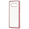 Hurtel Samsung Galaxy Note 8 N950 Metalic Slim TPU hátlap, tok, pink