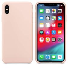 Hurtel Szilikon tok telefontok hátlap lágy rugApples gumi védőborítás iPhone XS Max pink tok és táska