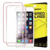 Hurtel Wozinsky elő+hátlapi 3D teljes kijelzős edzett üvegfólia 9H keménységű alumínium kerettel, iPhone 6/6S, rose gold