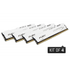 HyperX Fury White DIMM 32 GB DDR4-2400 Quad-Kit (HX424C15FW2K4/32)