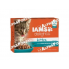 IAMS Cat Delights Kitten&Junior csirke falatkák ízletes szószban, multipack 12x85g