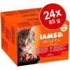 IAMS Cat Delights – Land & Sea – Aszpikos – Multipack 2.04kg