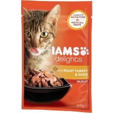 IAMS Cat Delights – Sült pulyka- és kacsahús aszpikban (24 x 85 g) 2.04kg macskaeledel