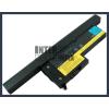IBM ThinkPad X60 1707 4400 mAh 8 cella fekete notebook/laptop akku/akkumulátor utángyártott