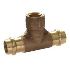IBP 22-3/4 belsőmenetes gáz press T-idom réz bm t idom hűtés, fűtés szerelvény