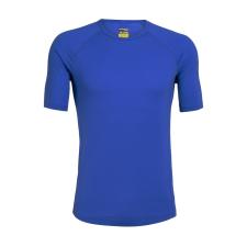 Icebreaker 150 Zone SS Crewe XXL / kék férfi póló