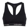 Icebreaker Melltartó Icebreaker Women`s Sprite Racerback Bra Melltartó mérete: M / Szín: fekete