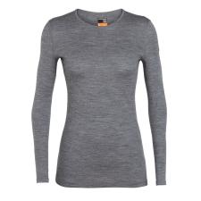 Icebreaker Női póló Icebreaker Women's 200 Oasis LS Crewe Méret: L / Szín: szürke női póló