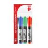 """ICO Alkoholos marker készlet, 1-4 mm, vágott, ICO """"Permanent 12 XXL"""", 4 különböző szín"""