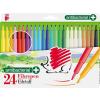 """ICO Filctoll készlet, 1 mm, antibakteriális, ICO """"Süni 300"""", 24 különböző szín"""
