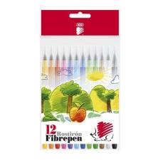 """ICO Filctoll készlet, 1 mm, ICO """"Süni 300"""", 12 különböző szín filctoll, marker"""
