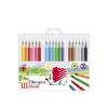 """ICO Filctoll készlet, 1 mm, ICO """"Süni 300"""", 18 különböző szín"""