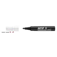 "ICO Flipchart marker, 1-3 mm, kúpos, ICO ""Artip 11"", fekete filctoll, marker"