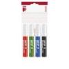 """ICO Flipchart marker készlet, 1-3 mm, kúpos, ICO \""""Artip 11\"""", 4 különböző szín [4 db]"""