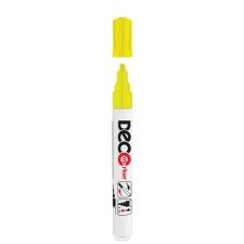 "ICO Lakkmarker, 2-4 mm, ICO ""Decomarker"" sárga filctoll, marker"