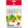 ICO színes rosttoll készlet - 12 db-os