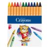 """ICO Zsírkréta, ICO """"Creative Kids"""", 12 különböző szín"""