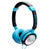 iDance Crazy 501 fülhallgató, kék-fekete