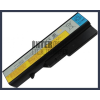 IdeaPad Z370A-BNI 4400 mAh 6 cella fekete notebook/laptop akku/akkumulátor utángyártott