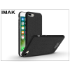 IMAK Apple iPhone 7 Plus/iPhone 8 Plus hátlap - IMAK Sandstone Super Slim - fekete