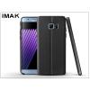 IMAK Samsung N930F Galaxy Note 7 hátlap képernyővédő fóliával - IMAK Vega Leather - fekete