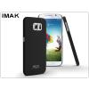IMAK Samsung SM-G920 Galaxy S6 hátlap - IMAK Sandstone Super Slim - fekete