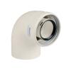 Immergas 80/125 mm-es, 90°-os koncentrikus ív kondenzációs rendszerhez