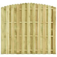 Impregnált fenyőfa kerítéspanel 180 x (155-170) cm kerti dekoráció