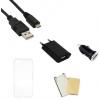 Indulócsomag EXTRA, Huawei P8 Lite (2017) / P9 Lite (2017), ultravékony tokkal