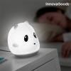 InnovaGoods Panda Újratölthető Szilikon Érintős LED Lámpa