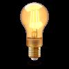 INNR LED lámpa , égő , INNR , izzószálas hatás , filament , E27 , 4.2 Watt , borostyán sárga...