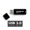 Integral flash memory USB 3.0 - 32GB NEON NOIR - Up to 80MB/s Read- 10MB/s Write