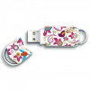 Integral USB Xpression 8GB; bird & flower pattern