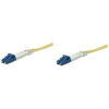 Intellinet Fiber optic patch cable LC-LC duplex 2m 9/125 OS2 singlemode