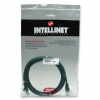 Intellinet Network Solutions Intellinet patch kábel RJ45  kat.5e UTP  5m  zöld  100% réz