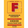 INTERBOOKS Külkereskedelmi levélminták - 100 francia üzleti levél